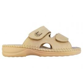 Dámské pantofle Koka béžové