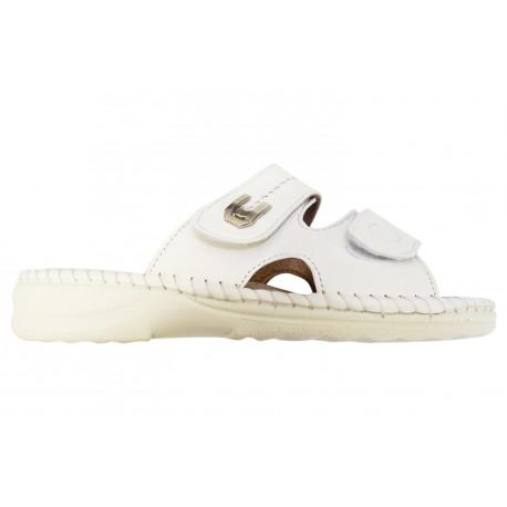 Dámské pantofle Koka bílé, Boty 42 Koka