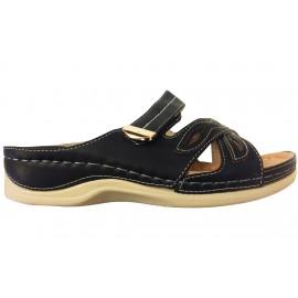 Krémové dámské pantofle Koka