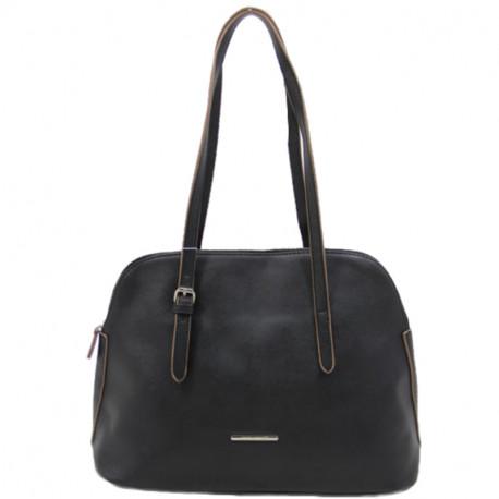 Elegantní dámská kabelka David Jones 5057-1 - černá 2fc2446cafb