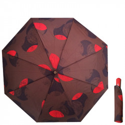 Automatický deštník REALSTAR - hnědý 4