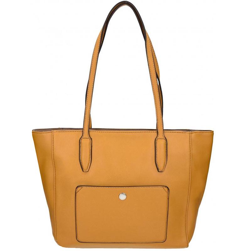 Elegantní dámská kabelka David Jones 5213-2 - žlutá - Asap-store.cz dd021b02528