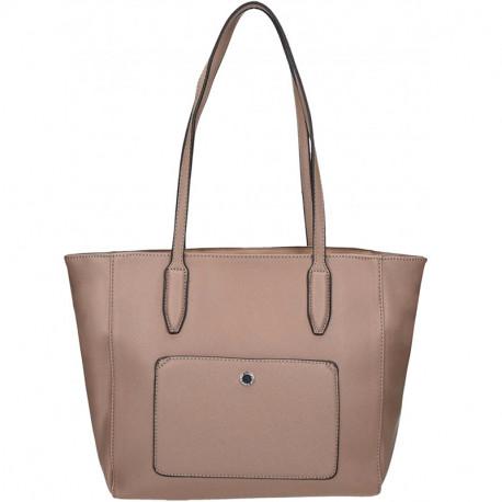 Elegantní dámská kabelka David Jones 5213-2 - béžová 9fa400edaf