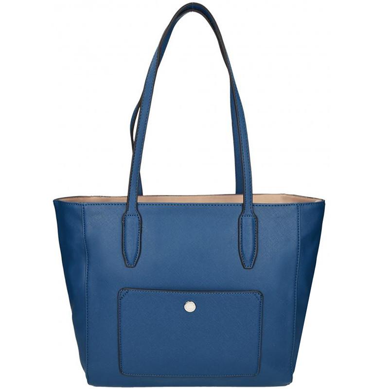 Elegantní dámská kabelka David Jones 5213-2 - modrá - Asap-store.cz 936485b7d9c