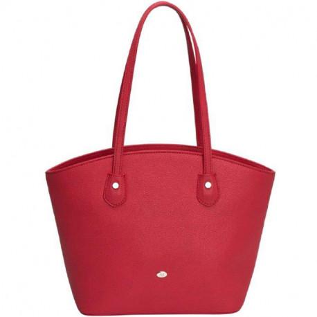 Dámská kabelka David Jones cm3137 - červená, Barva Červená David Jones
