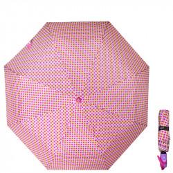 Automatický deštník REALSTAR - růžový 5