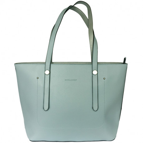 a6d6c92817 Elegantní dámská kabelka David Jones 5557-2 - modrá