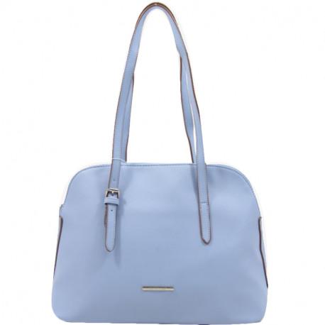 Elegantní dámská kabelka David Jones 5057-1 - světle modrá 1f00583c001