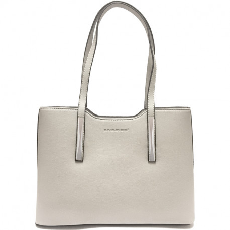 Elegantní dámská kabelka David Jones 5251-1 - šedá