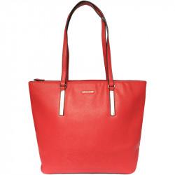 Elegantní dámská kabelka David Jones 5200-5 - červená