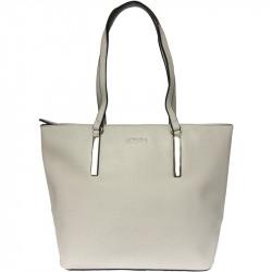 Elegantní dámská kabelka David Jones 5200-5 - šedá