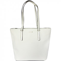 Elegantní dámská kabelka David Jones 5200-5 - bílá
