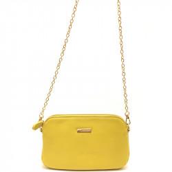 Dámská crossbody kabelka David Jones cm3347 - žlutá