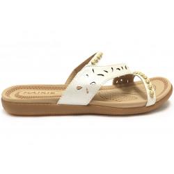 Dámské letní páskové pantofle