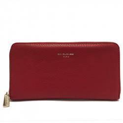 Elegantní dámská peněženka David Jones 2 - červená