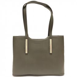 Elegantní dámská kabelka David Jones 5621-1 - šedá