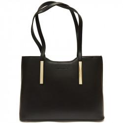 Elegantní dámská kabelka David Jones 5621-1 - černá