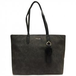 Elegantní dámská kabelka David Jones cm3538 - černá