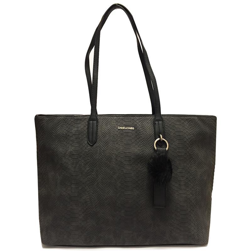 Elegantní dámská kabelka David Jones cm3538 - černá - Asap-store.cz 64d8248d4dc