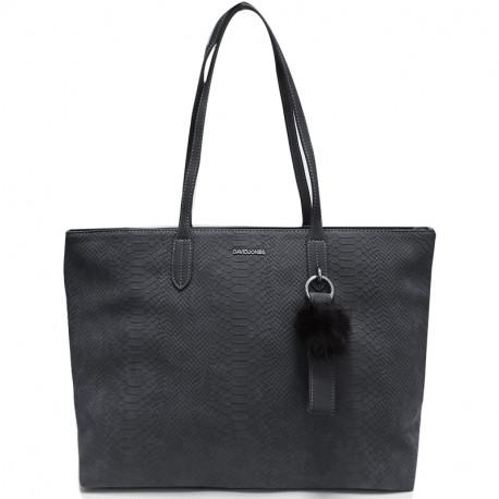 Elegantní dámská kabelka David Jones cm3538 - tmavě modrá