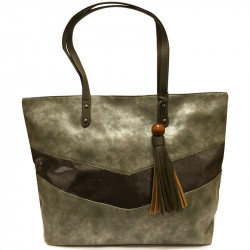 Elegantní dámská kabelka David Jones 5650-3 - khaki