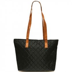 Prošívaná taška - černá