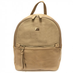 Elegantní dámský batoh David Jones 5700-2 - béžový