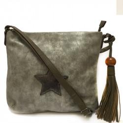 Dámská crossbody kabelka David Jones 5649-2 - khaki