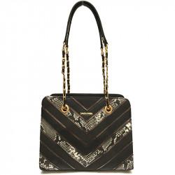 Elegantní dámská kabelka David Jones 5202-3 - černá
