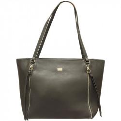 Elegantní dámská kabelka David Jones cm3579- tmavě šedá