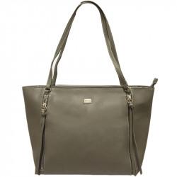 Elegantní dámská kabelka David Jones cm3579 - šedá