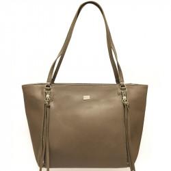 Elegantní dámská kabelka David Jones cm3579- hnědá