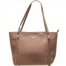 Elegantní dámská kabelka David Jones cm3579- tmavě růžová