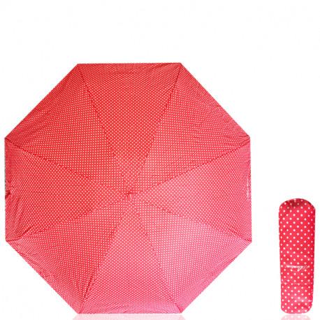 Manuální deštník Alentino - červený