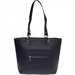Elegantní dámská kabelka David Jones cm3560 - tmavě modrá