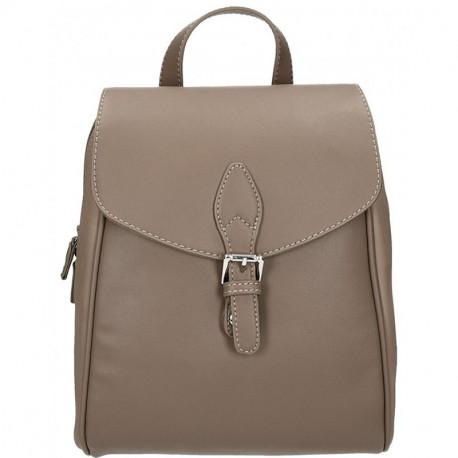 Elegantní městský dámský batoh David Jones cm3615 - hnědá, Barva Hnědá David Jones