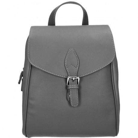 Elegantní městský dámský batoh David Jones cm3615 - šedá, Barva Šedá David Jones