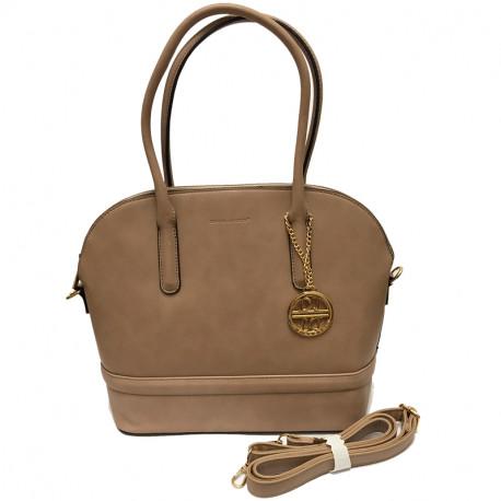 Elegantní dámská kabelka David Jones 3839-1 - camel