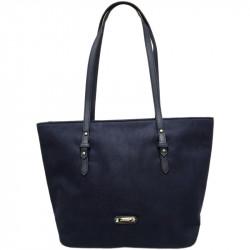 Elegantní dámská kabelka David Jones 5294-2 - tmavě modrá