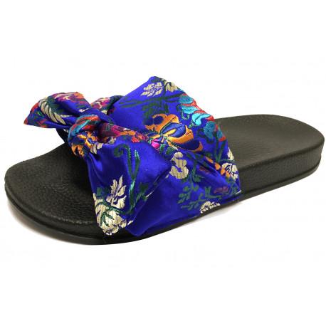 Dámské pantofle s mašlí 2