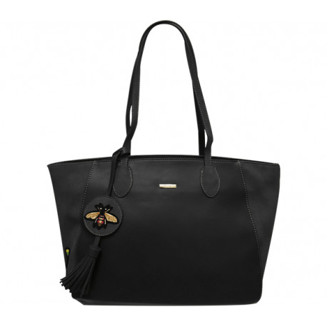 Elegantní dámská kabelka David Jones 3839-1 - černá