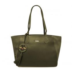 Elegantní dámská kabelka David Jones cm3613 - khaki