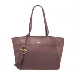 Elegantní dámská kabelka David Jones cm3613 - tmavě růžová