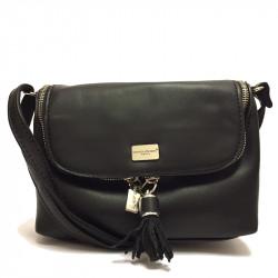 Dámská crossbody kabelka David Jones cm2817 - černá