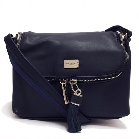 Dámská crossbody kabelka David Jones cm2817 - tmavě modrá