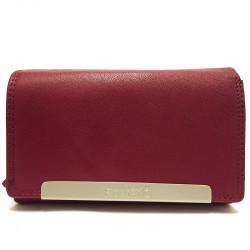 Kožená dámská peněženka Roberto 2008 - vínová