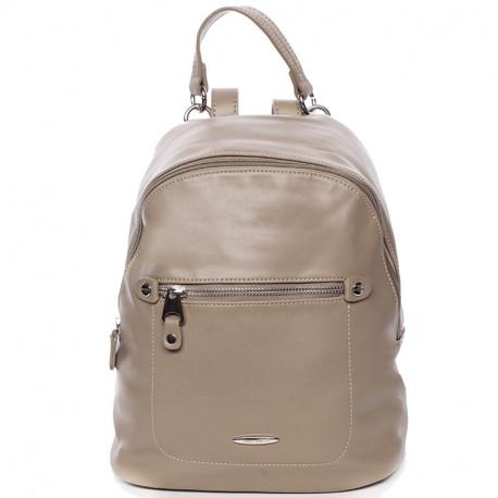 Elegantní městský dámský batoh David Jones 5675a-2 - hnědý, Barva Hnědá David Jones