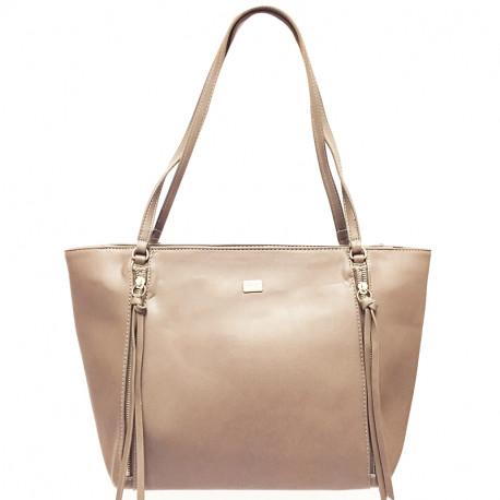 Elegantní dámská kabelka David Jones cm3579a- tmavě růžová