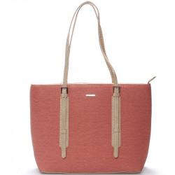 Dámská kabelka David Jones cm3353 - červená