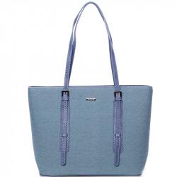 Dámská kabelka David Jones cm3353 - modrá